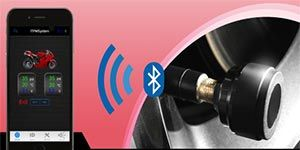 BLE TPMS Bluetooth Sensors for Motorcycle